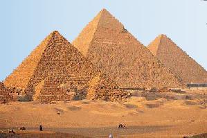 [ A gizai piramisok ]